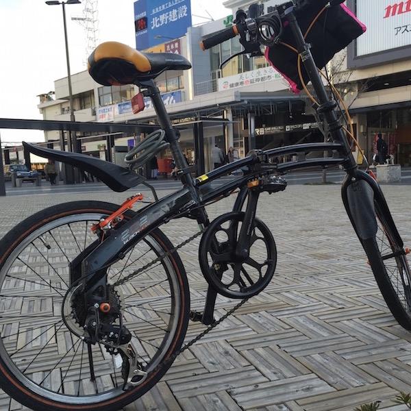 2015年 折りたたみ自転車で、実際に輪行をしてみた!のサムネイル